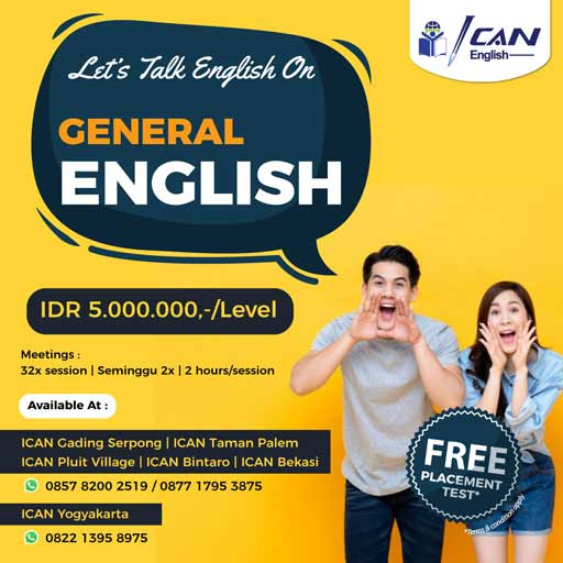 ICAN - General English