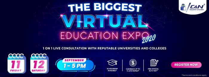 The Biggest Virtual Education Expo 2020